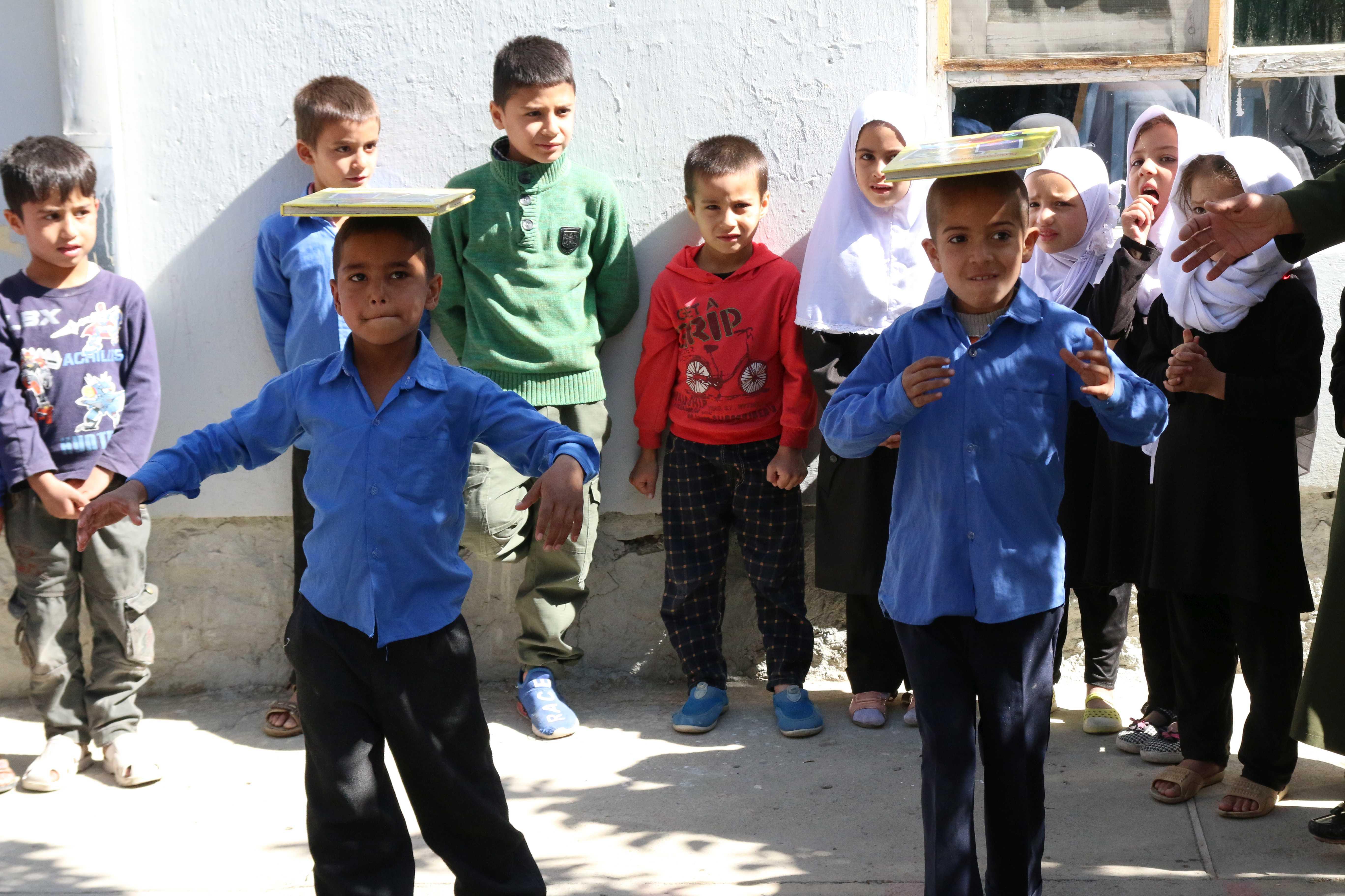 Ein Modell für Afghanistan: Schule in Kabul praktiziert ganzheitliche Lernmethode