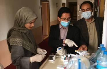 Corona breitet sich auch in Afghanistan aus: Shelter Now verteilt Hygiene-Pakete